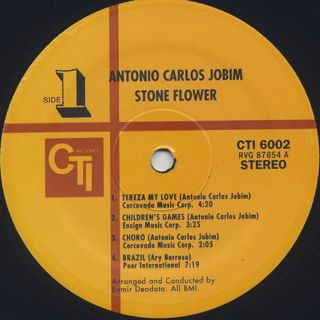 Antonio Carlos Jobim / Stone Flower label