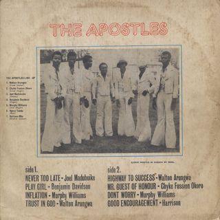 Apostles / S.T. back