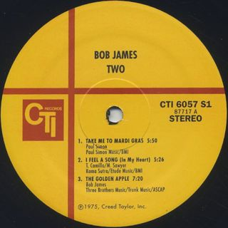 Bob James / Two label