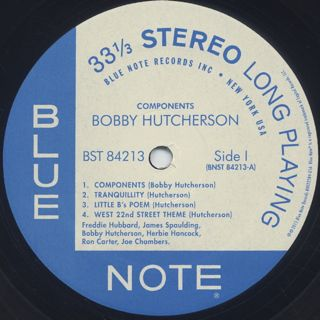 Bobby Hutcherson / Components label