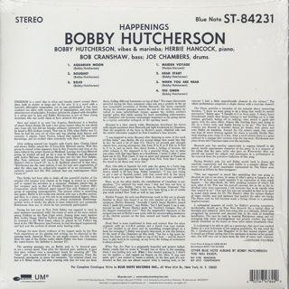 Bobby Hutcherson / Happenings back