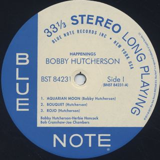 Bobby Hutcherson / Happenings label