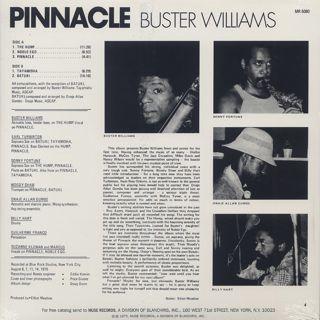 Buster Williams / Pinnacle back