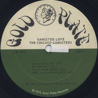 Chicago Gangsters / Gangster Love label