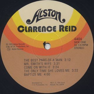 Clarence Reid / On The Job label
