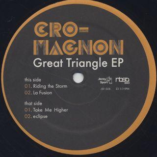 Cro-Magnon / Great Triangle EP