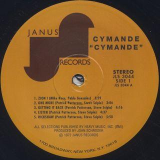 Cymande / S.T. label