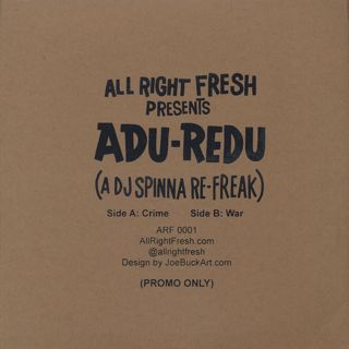 DJ Spinna / Adu-Redu back