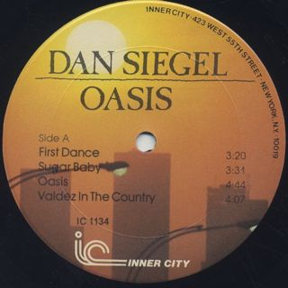Dan Siegel / Oasis label