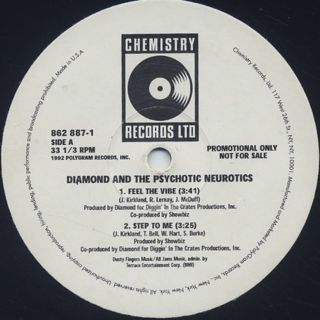 Diamond And The Psychotic Neurotics / Feel The Vibe back