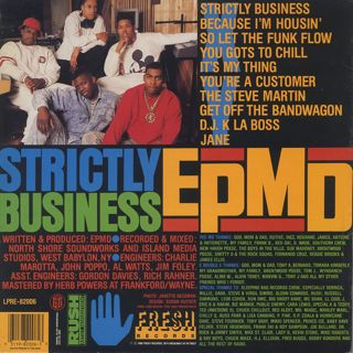 EPMD / Strictly Business back