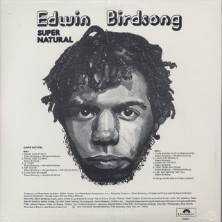 Edwin Birdsong / Super Natural back