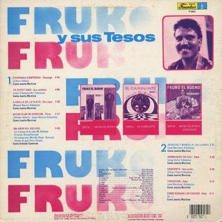 Fruko Y Sus Tesos / Contento back