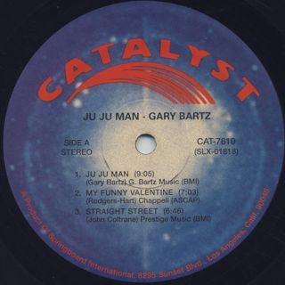 Gary Bartz / Ju Ju Man label
