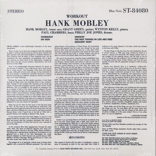 Hank Mobley / Workout back