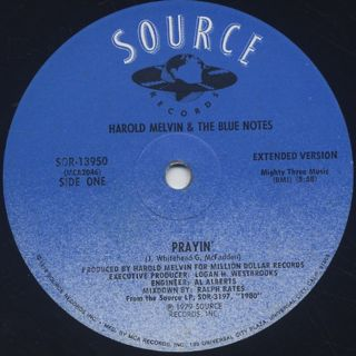 Harold Melvin & The Blue Notes / Prayin' back