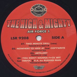 High & Mighty / Air Force 1 label