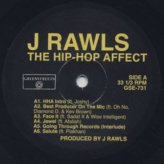 J Rawls / The Hip-Hop Affect label