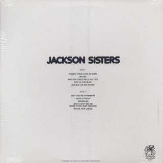 Jackson Sisters / S.T. back