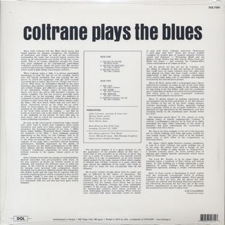 John Coltrane / Coltrane Plays The Blues back