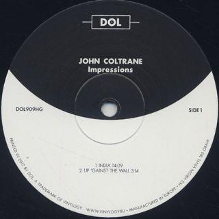 John Coltrane / Impressions label