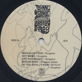 Johnny Zamot / Introduces The Boogaloo Frog label
