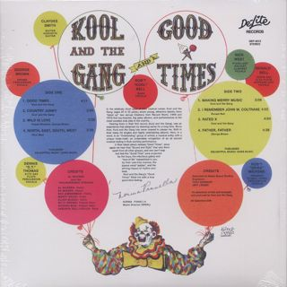 Kool And The Gang / Good Times back