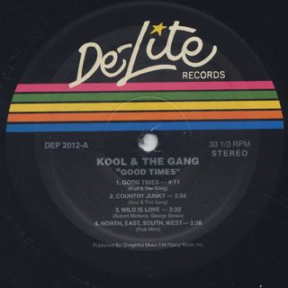 Kool And The Gang / Good Times label