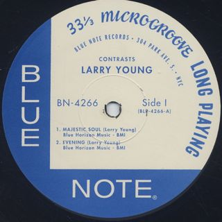 Larry Young / Contrasts label