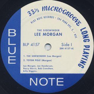 Lee Morgan / The Sidewinder label