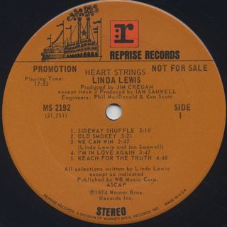 Linda Lewis / Heart Strings label