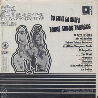 Los Barbaros / Los Barbaros Vol. XI back
