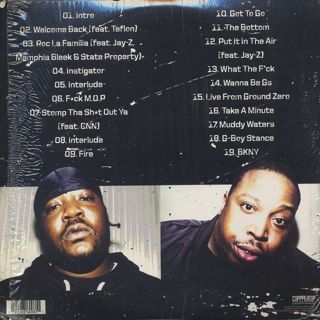 M.O.P. / Ghetto Warfare back