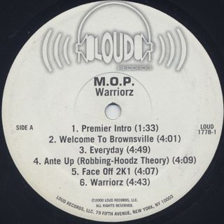 M.O.P. / Warriorz label