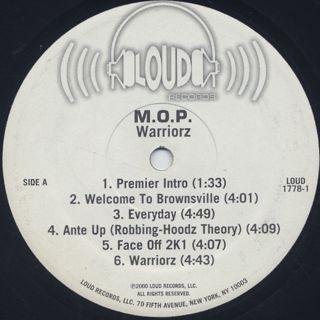 M.O.P. / Warriorz label