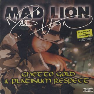 Mad Lion / Ghetto Gold & Platinum Respect front