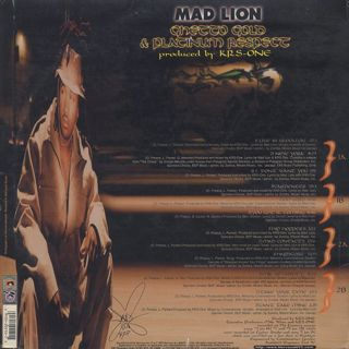 Mad Lion / Ghetto Gold & Platinum Respect back