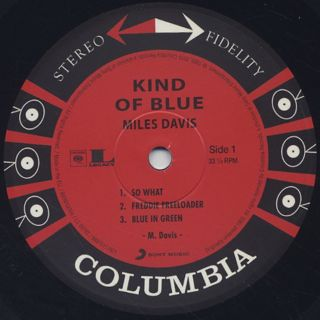 Miles Davis / Kind Of Blue label