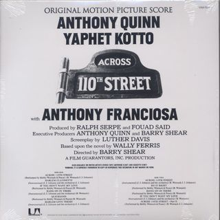 O.S.T.(Bobby Womack) / Across 110th Street back