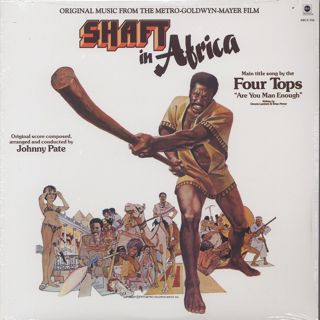 O.S.T.(Johnny Pate) / Shaft In Africa front