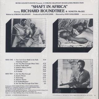 O.S.T.(Johnny Pate) / Shaft In Africa back