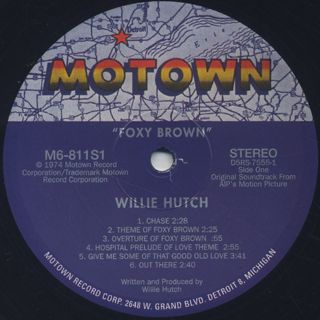 O.S.T.(Willie Hutch) / Foxy Brown label