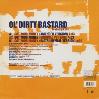 Ol' Dirty Bastard / Got Your Money back
