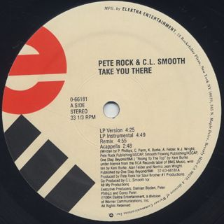 Pete Rock & C.L. Smooth / Take You There label
