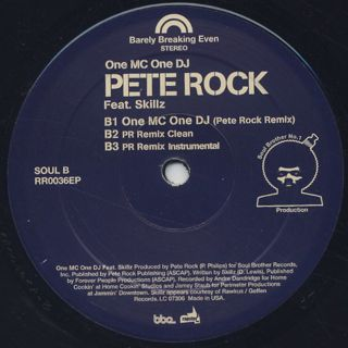 Pete Rock / It's A Love Thing label