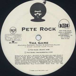 Pete Rock / The Game back