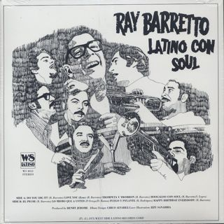 Ray Barretto / Latino Con Soul back