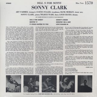 Sonny Clark / Dial