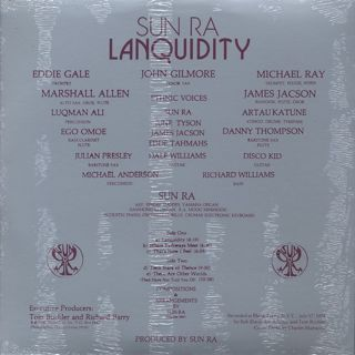 Sun Ra / Lanquidity back