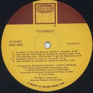Syreeta / Syreeta label